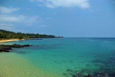 The Conchas Beach - São Tomé e Príncipe