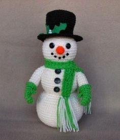 Pottage Publishing - Free Crochet Patterns - Snowman: More
