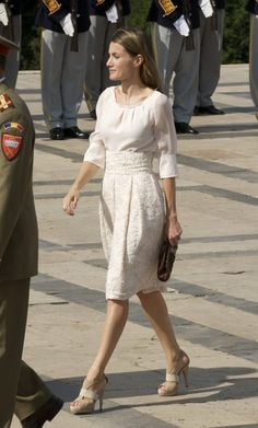 Princess Letizia - Prince Felipe & Princess Letizia Visit Romania - Day 1