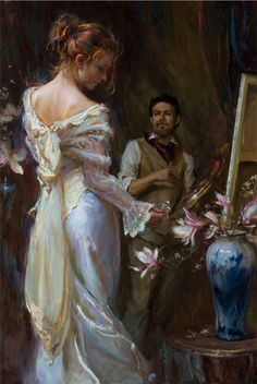 We are pleased to announce that Capturing Beauty by Daniel Gerhartz has been added to the 12th International ARC Salon Exhibition. This work is also available for sale. For inquiries please contact kara.ross@artrenewal.org. To learn more about the exhibition and to see the other works that have joined the exhibition so far, visit our 12th International ARC Salon Exhibition Page. #12thARCSalon