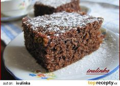 These triple chocolate protein cake bars are a healthy high protein snack with three different kinds of chocolate. High Protein Desserts, Chocolate Protein Bars, Protein Cake, Protein Foods, Protein Recipes, Chocolate Cake, Ripped Recipes, Cake Recipes, Dessert Recipes