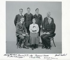 Bashford Dean and the staff of the Department of Arms and Armor in 1919; Metropolitan Museum of Art