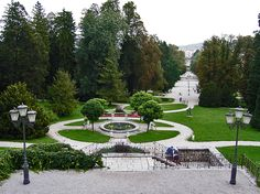 Tivoli Park is Ljubljana's largest and most beautiful park, stretching right into the city centre. It was designed in 1813 by the French engineer Jean Blanchard.