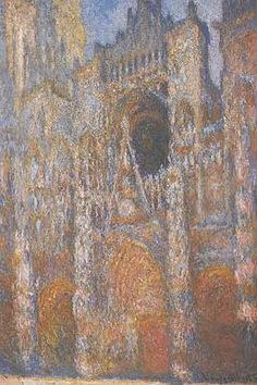 Claude Monet - Rouen Cathedral, Facade #4