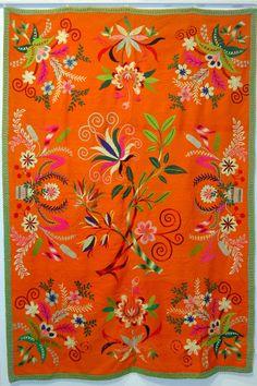 Embroidery from Lihula, Estonia
