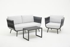 Chair Side Table, Grey Cushions, Table Dimensions, Outdoor Lounge, Upholstery, Relax, Contemporary, Furniture, Design