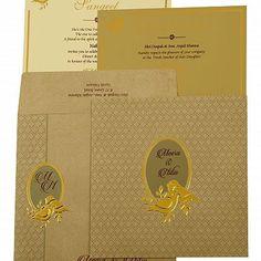 Muslim Wedding Cards, Muslim Wedding Invitations, Foil Stamped Wedding Invitations, Indian Wedding Cards, Vintage Wedding Invitations, Printable Wedding Invitations, Wedding Stationery, Wedding Card Design, Foil Stamping