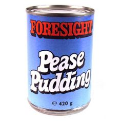 Foresight Pease Pudding.  Made in the UK by Premier Foods I think