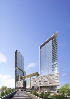 Noida City Center II - Architizer