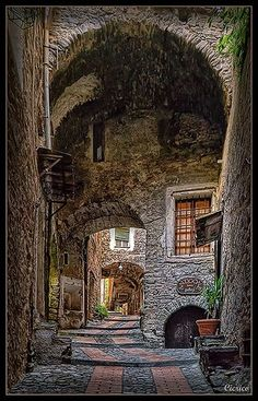 Medieval Village of Dolceacqua, Italy