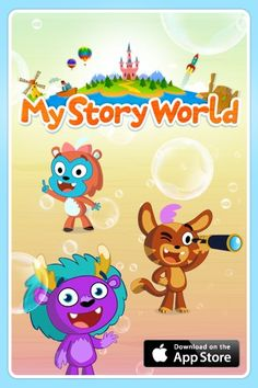 The Guardian featured My Story World on their list of best apps for kids from 2013! Have a read: