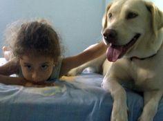 Mi nena y Nina.