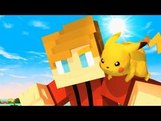 ♪ Minecraft Pokemon Music Video (Pixelmon) - Minecraft Parody of The First Pokemon Movie