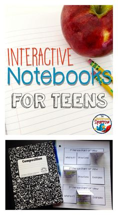 Interactive Notebooks for Teens by The Classroom Sparrow