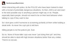 Pretty much yeah. Officers should only use force when necessary. Cops have gotten out of hand.