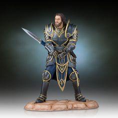 Warcraft The Beginning Statue Lothar 28 cm   Warcraft - Hadesflamme - Merchandise - Onlineshop für alles was das (Fan) Herz begehrt!