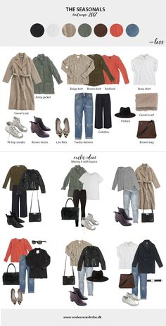My current Capsule Wardrobe: Autumn 2017 –Seasonal Items and Fall Outfits. Use less Capsule Wardrobe Mom, Wardrobe Basics, Winter Wardrobe, Capsule Wardrobe Autumn 2018, Fall Outfits, Casual Outfits, Cute Outfits, Fashion Outfits, Womens Fashion