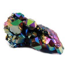 Sunshine Aura Quartz Healing Crystal