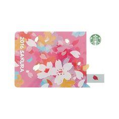 Starbucks Japan Sakura 2016 Cheery Gift Card W/ Sleeve design japan Starbucks Japan SAKURA 2016 Cheery Gift Card w/ sleeve Gift Wrapping Techniques, Japanese Wrapping, Flower Packaging, Gift Packaging, Packaging Design, Japan Sakura, Ticket Design, Japanese Gifts, Japan Painting