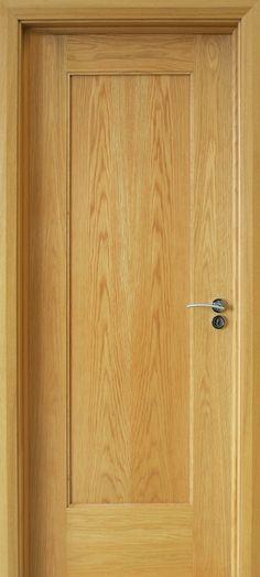 internal interior doors Oak Doors Shaker 1 Panel 40mm