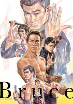 A Milton Wong Bruce Lee Collage