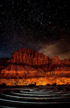 Orion's Labyrinth ~Zion National Park, Utah