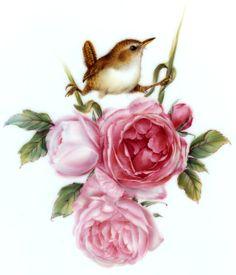 Melanie Foster - Atelier für Malerei - Porzellanmalerei