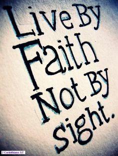 2 Coronthians 5:7