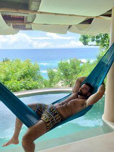 darioowen.com Outdoor Furniture, Outdoor Decor, Hammock, Bikinis, Swimwear, Mexico, My Favorite Things, Home, Bathing Suits