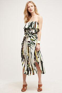 Kathu Silk Dress - anthropologie.com