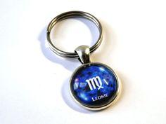 Schlüsselanhänger - Namens-Anhänger Sternzeichen Jungfrau - ein Designerstück von csoMunich bei DaWanda