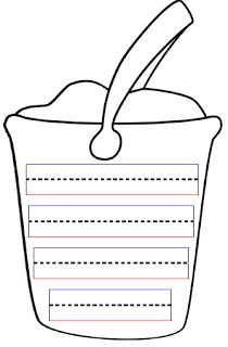 1000 images about bucket list on pinterest summer for Sand bucket template