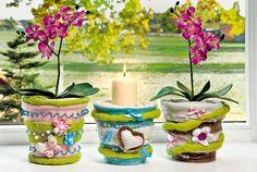 Die 59 Besten Bilder Von Blumentopfe Decorated Flower Pots