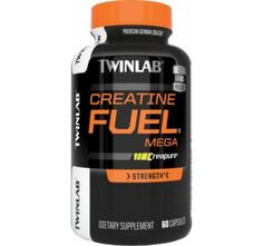 Twinlab Mega Creatine Fuel 60 Capsules Whey Protein Powder | Fitness | Bodybuilding | Fit | Protein | #fitness #workout #protein #creatine #bodybuilding #supplements | SHOP @ BodyConcept.com