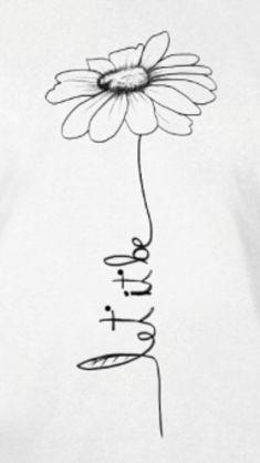 Let it be written in flower stem flower tattoos, small tattoos, new tattoos, Sunflower Tattoo Sleeve, Sunflower Tattoo Shoulder, Sunflower Tattoo Small, Sunflower Tattoo Design, Wrist Tattoos, Word Tattoos, Body Art Tattoos, New Tattoos, Small Tattoos