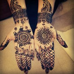 My engagement mendhi #henna