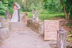 Couple's Romantic Wedding-Day Moment |  Photography: Delaney Dobson.  Read More:   http://www.insideweddings.com/weddings/alfresco-celtic-inspired-wedding-styled-shoot-with-rustic-details/858/