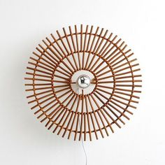 The wall rattan cane Nogu La Redoute Interieurs Contemporary Wall Lights, Modern Wall Lights, Wall Light Shades, Rattan Lamp, Home Furnishing Accessories, Haiti, Glass Wall Lights, Glass Texture, Aluminium
