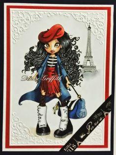 Dollyz Cardz: My Custom Image from the amazing Krista Smith, Saturated Canary