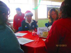 En la secundaria también creemos en la Navidad, con un cafecito literario.