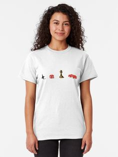 'Pro Refugees' T-Shirt von Atzerom T Shirt Fun, Shirt Designs, Crazy Ex Girlfriends, Vintage T-shirts, One Piece, Vintage Style Outfits, Tshirt Colors, Female Models, Chiffon Tops