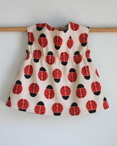 Ladybug Tunic by The Long Thread | Project | Sewing / Kids & Baby | Kollabora