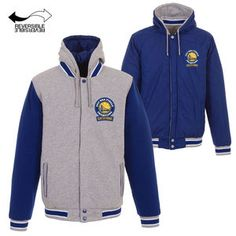 <div>Cheer on the Golden State Warriors with this awesome Polytwill Snap Button Jacket by JH Design! You'll love the look and feel of this cool jacket, featuring 2017 NBA Champions logos and team colors.</div> <div></div> <ul> <li>Men's poly-twill jacket</li> <li>Embroidered applique logos</li> <li>Quilted jersey lining</li> <li>Button snap enclosure</li> &l...