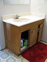 Bathroom Vanity Makeover #Bestof2012