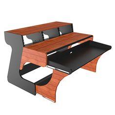 Home Studio Desk, Music Studio Room, Recording Studio Furniture, Piano Table, Yamaha Keyboard, Cable Tray, Simple Desk, Studio Gear, Computer Desks