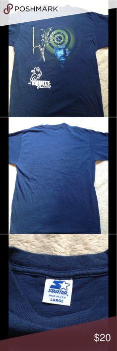 Emmitt Smith tshirt Vintage Emmitt Smith Emmitt zone tshirt size large 100% cotton starter Shirts Tees - Short Sleeve