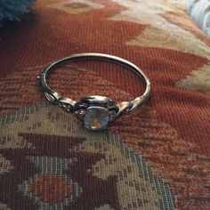 Sterling And Sapphire Bracelet
