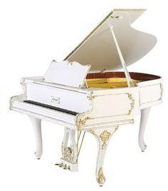 pianos de cola blanco - Buscar con Google