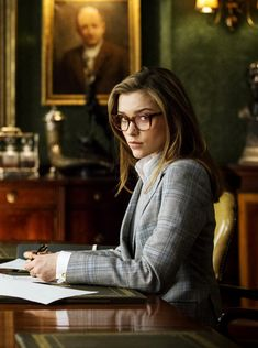 Sophie Cookson as Kingsman Roxy Lacelot