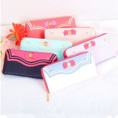 """Cartoon sweet bowknot sailor zipper wallet. If you want to buy this use this coupon code """" Nikola """" to get all 10% OFF"""